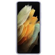 Handyhülle Samsung Silikonhülle für Galaxy S21 Ultra Violet - Kryt na mobil