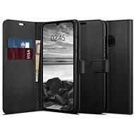 Spigen Wallet S Saffiano Black Huawei P30 Lite - Handyhülle