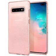 Spigen Flüssigkristall Glitter Rose Samsung Galaxy S10 + - Handyhülle