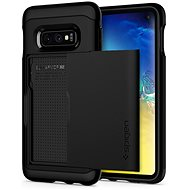 Spigen Slim Armor Schwarz Samsung Galaxy S10e - Silikonetui