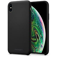 Spigen Silicone Fit Black iPhone XS Max