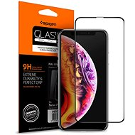 Spigen Glass FC HD Black iPhone XS / X