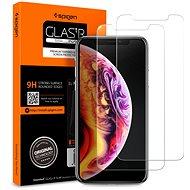 Spigen Glass Glas.tR Slim 2 Pack iPhone XS Max - Schutzglas