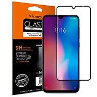 Spigen Glass FC HD Black Xiaomi Mi 9 - Schutzglas