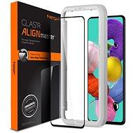 Spigen AlignMaster FC Schwarz Samsung Galaxy A51 - Schutzglas