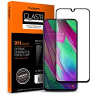 Spigen Glass FC Black Samsung Galaxy A40 - Schutzglas