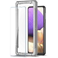 Spigen AlignMaster FC Black Samsung Galaxy A32 LTE - Schutzglas