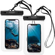 Spigen A601 Waterproof Phone Case 2 Pack Clear - Handyhülle