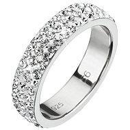 Prsten dekorovaný krystaly Swarovski Krystal 35001.1 (925/1000; 2,5 g) vel. 48 - Ring