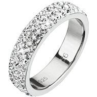 Prsten dekorovaný krystaly Swarovski Krystal 35001.1 (925/1000; 2,7 g) vel. 52 - Ring