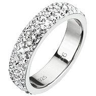 Prsten dekorovaný krystaly Swarovski Krystal 35001.1 (925/1000; 0,98 g) vel. 56 - Ring