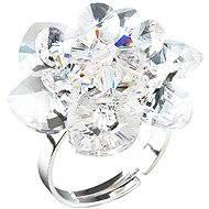 Prsten dekorovaný krystaly Swarovski Krystal 35012.1 (925/1000; 6,6 g) vel. 53-60 - Ring