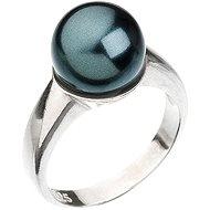 Prsten dekorovaný krystaly Swarovski Tahiti 35022.3 (925/1000; 5,1 g) vel. 58 - Ring