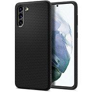 Handyhülle Spigen Liquid Air Black für Samsung Galaxy S21 - Kryt na mobil
