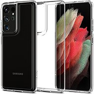 Handyhülle Spigen Ultra Hybrid Clear Samsung Galaxy S21 Ultra - Kryt na mobil
