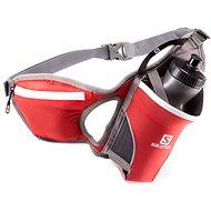 Salomon Hydro 45 belt bright red/iron - Sport-Bauchtasche