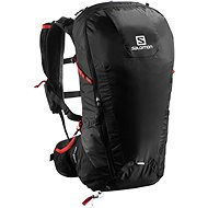 Salomon Peak 30 black/bright red - Sportrucksack