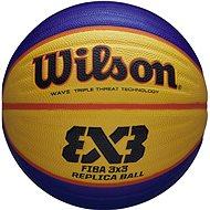 Wilson FIBA 3x3 Replica Rubber Basketball - Basketball-Ball