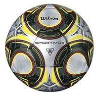 Wilson Sportivo li Sb Silber schwarz gelb Größe 5 - Ball