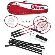 Wilson Tour Badminton Steel Poles - Spielset