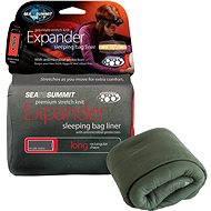Sea to Summit Expander Liner Lange Eukalyptus mit Kissen - Der Eintritt in den Schlafsack