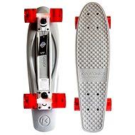 "Kryptonics Torpedo 22,5"" Gray - Kunststoff-Skateboard"
