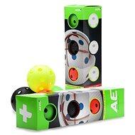 Salming Aero+ Ball 4-pack Barevný - Unihockeyball