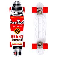Street Surfing Pop Board Souper Black Dot - Kunststoff-Skateboard