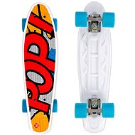 Street Surfing Pop Board Souper Popsi Yellow - Kunststoff-Skateboard