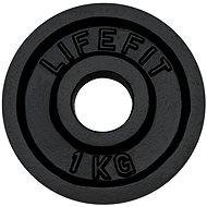 Kotouč Lifefit 1 kg / tyč 30 mm - Scheibe