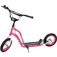 "Sportteam Delta 12"" / 12"" pink-weiss - Tretroller"