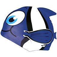 RYBKA blaue Badekappe - Mütze