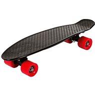 Street Surfing Fizz board black/red - Kunststoff-Skateboard