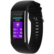 Polar A370 Black M/L - Fitness-Armband