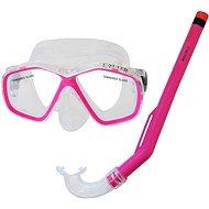 Calter Potápěčský set Kids S06+M278 PVC, růžový - Sport-Set
