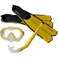 Calter Potápěčský set Kids S06+M168+F41 PVC, žlutý - Sport-Set