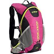 One Way Run Hydro Back 12L Pink-Black - Sportrucksack