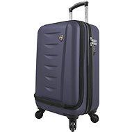 Mia Toro M1014/3-S - modrá - Reise-Koffer mit TSA-Schloss