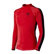 Poseidon Rashguard Men Red vel. XL - Lycra UV T-Shirt