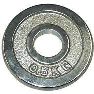 Acra Závaží chromové 0,5 kg / tyč 25 mm - Scheibe