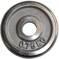 Acra Závaží chromové 0,75 kg / tyč 25 mm - Scheibe
