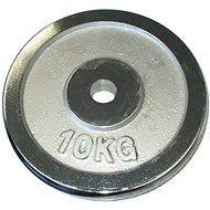 Acra Závaží chromové 10 kg / tyč 25 mm - Scheibe