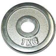Acra Závaží chromové 1 kg / tyč 25 mm - Scheibe