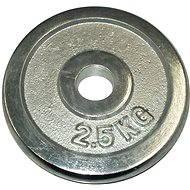 Acra Závaží chromové 2,5 kg / tyč 25 mm - Scheibe