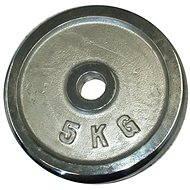 Acra Závaží chromové 5 kg / tyč 25 mm - Scheibe