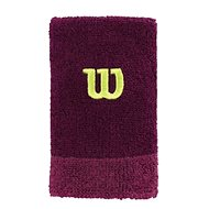 Wilson Extra WIDE W Wristband Purple/Boyse OSFA - Sportaccessoires