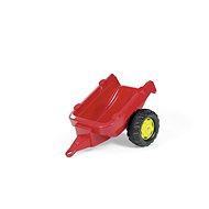 Anhänger für Traktor 1-achsig - rot - Trettraktor