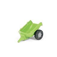 Einachsiger Anhänger für Trettraktoren, hellgrün - Trettraktor
