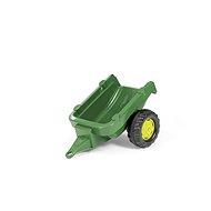 Traktoranhänger 1 Achse - Dunkelgrün - Trettraktor