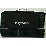 Frendo Picnic Rug-Acrylic 3 Zelená - Decke
